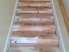 Stair Treads and Risers - Before Replacement