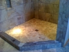 Ceramic Tile Shower - Lower View
